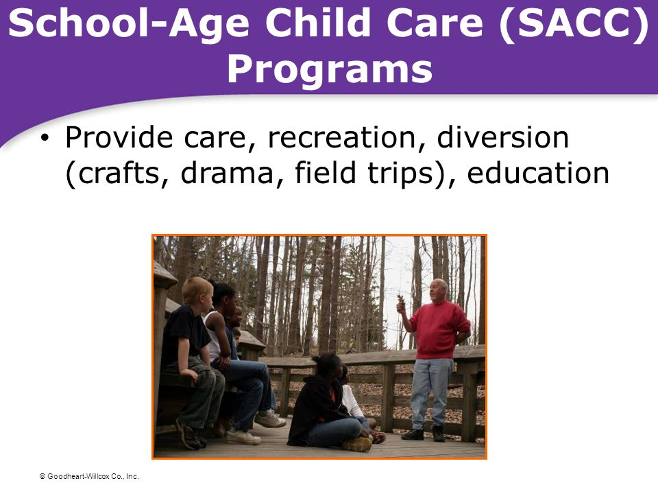 School-Age Child Care (SACC) Programs