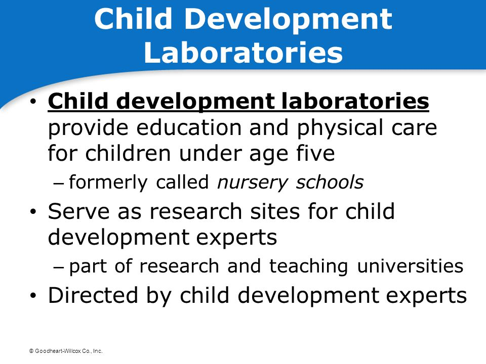 Child Development Laboratories