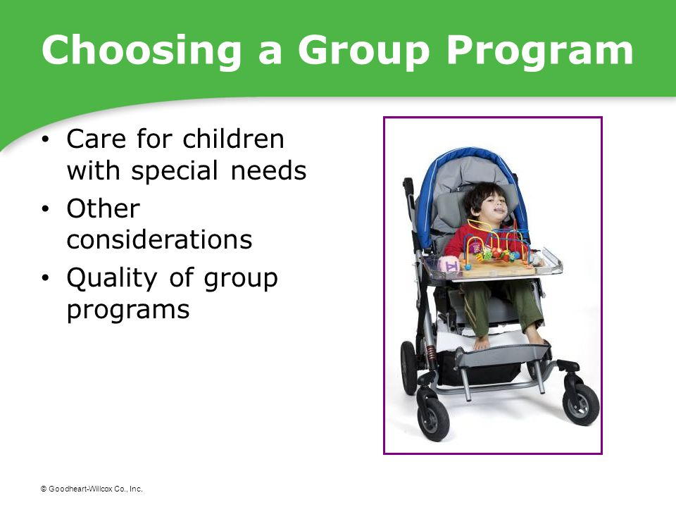 Choosing a Group Program