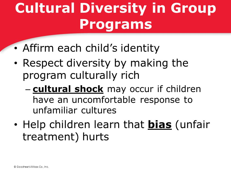 Cultural Diversity in Group Programs