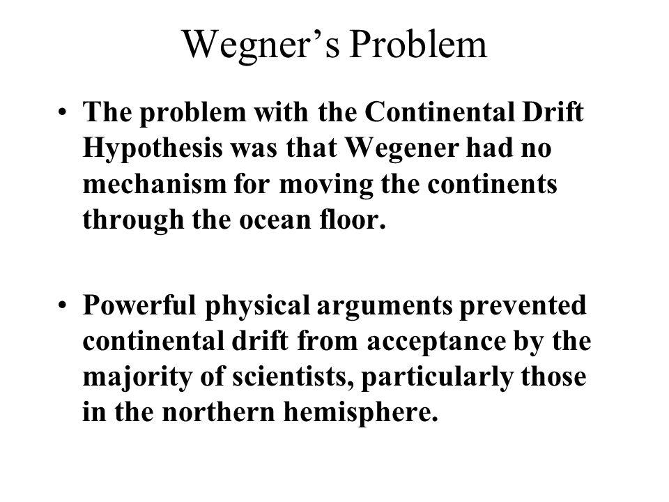 Wegner's Problem