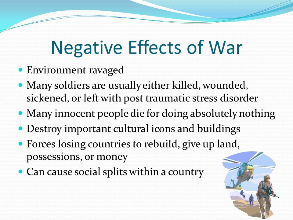 Negative Effects of War