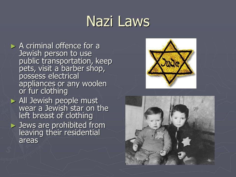 Nazi Laws