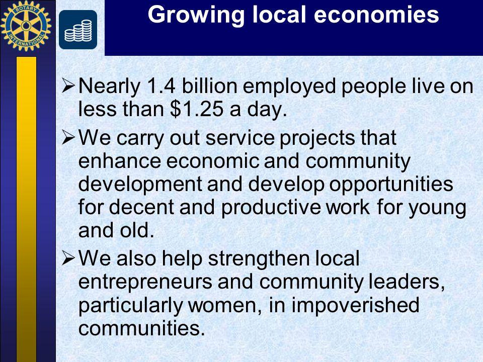Growing local economies