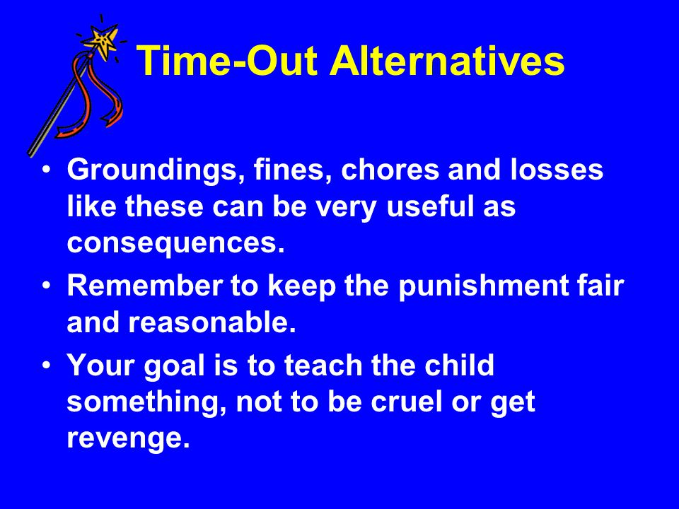 Time-Out Alternatives