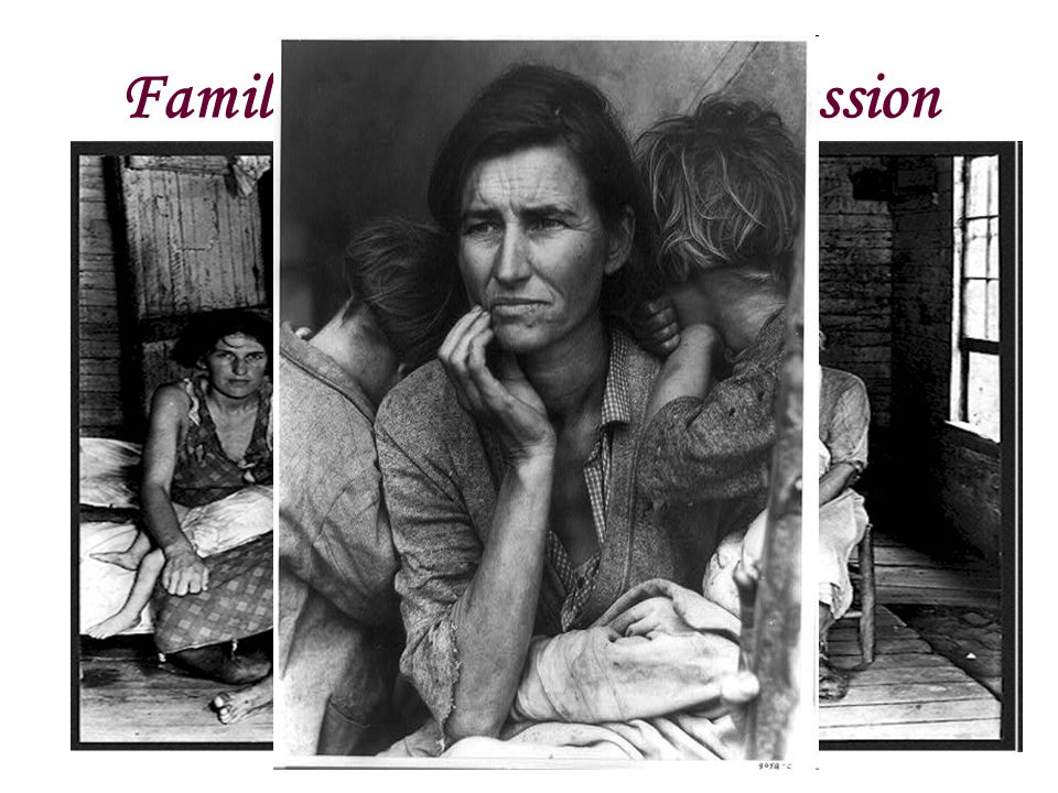 Families of the Great Depression