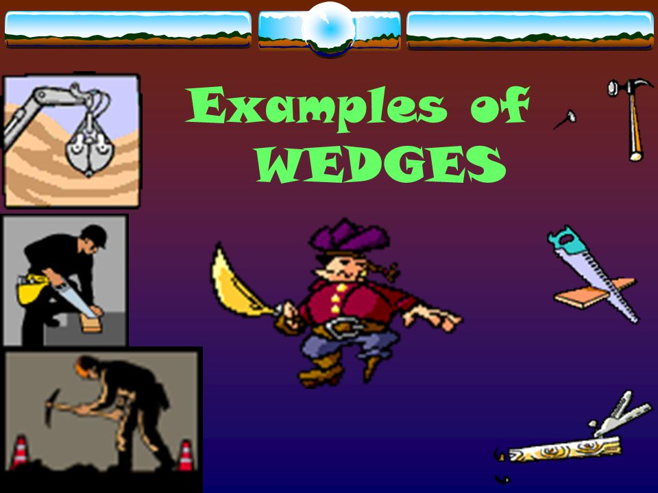 Examples of WEDGES