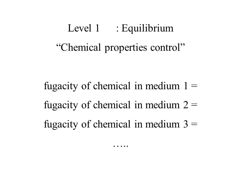 Chemical properties control