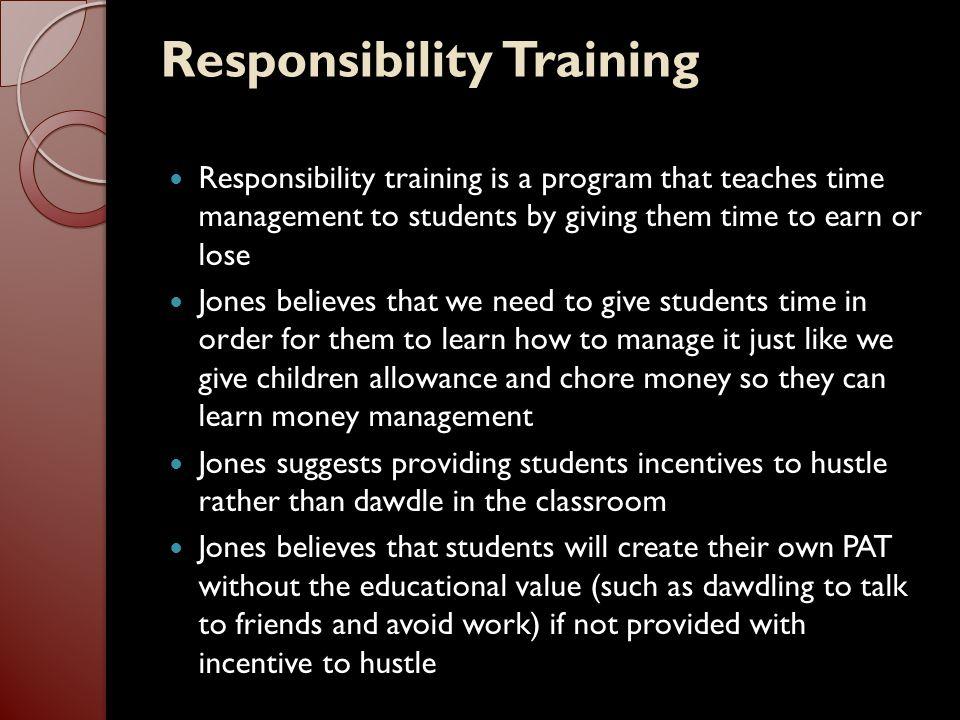 Responsibility Training