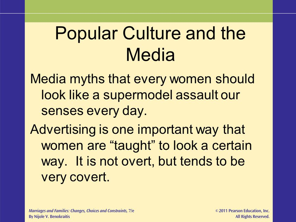 Popular Culture and the Media
