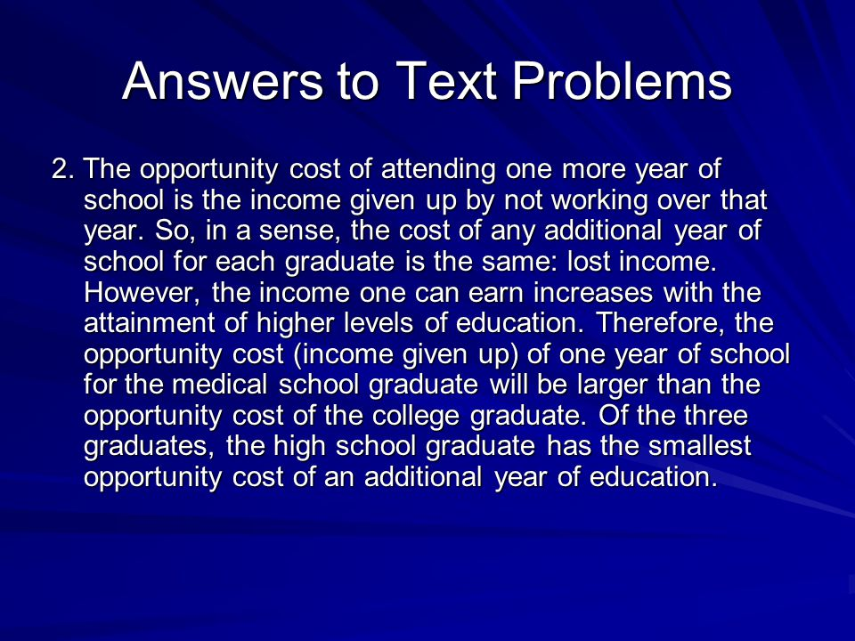 Answers to Text Problems