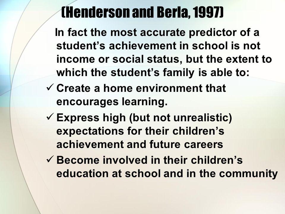 (Henderson and Berla, 1997)