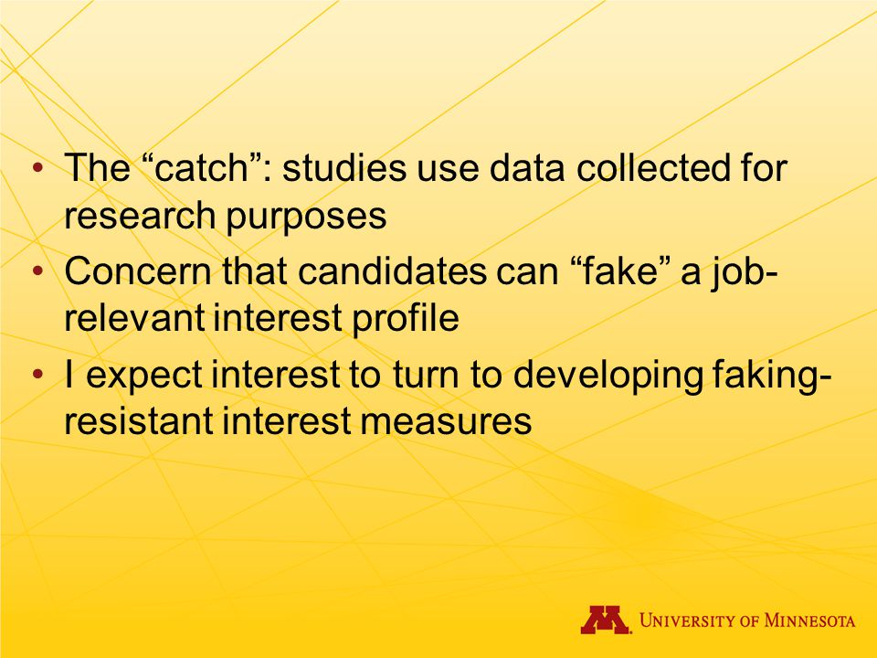 The catch : studies use data collected for research purposes