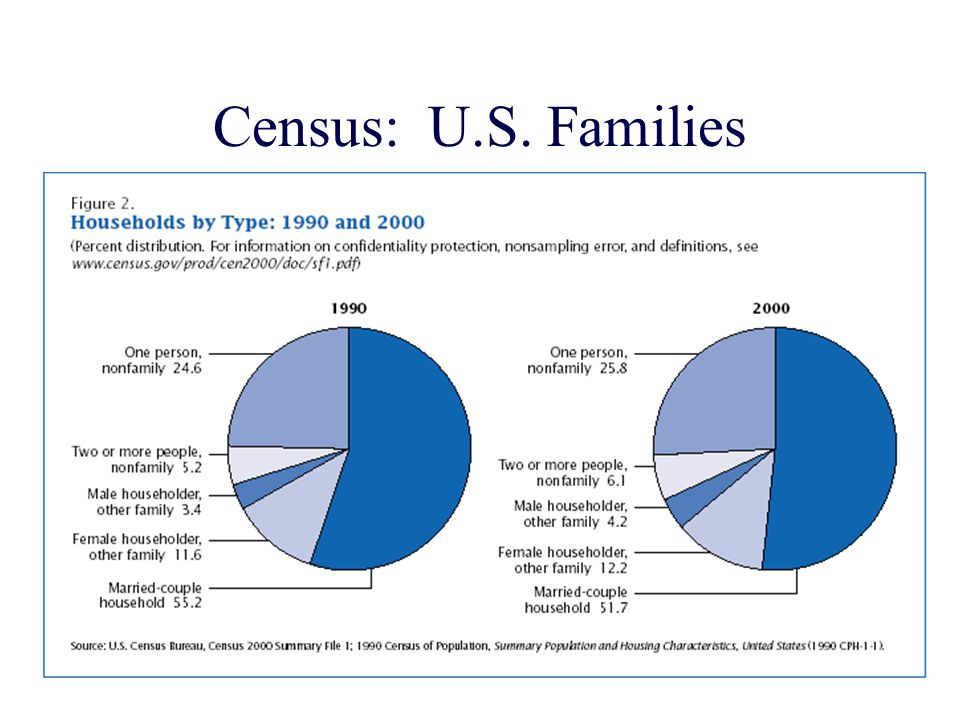 Census: U.S. Families
