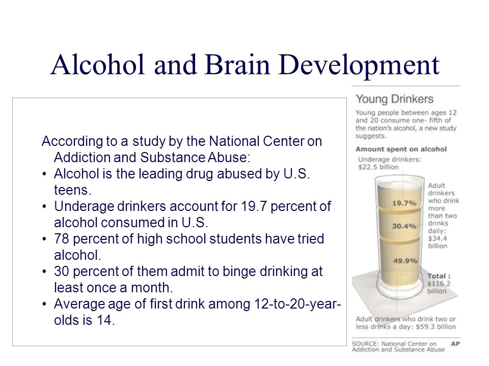 Alcohol and Brain Development