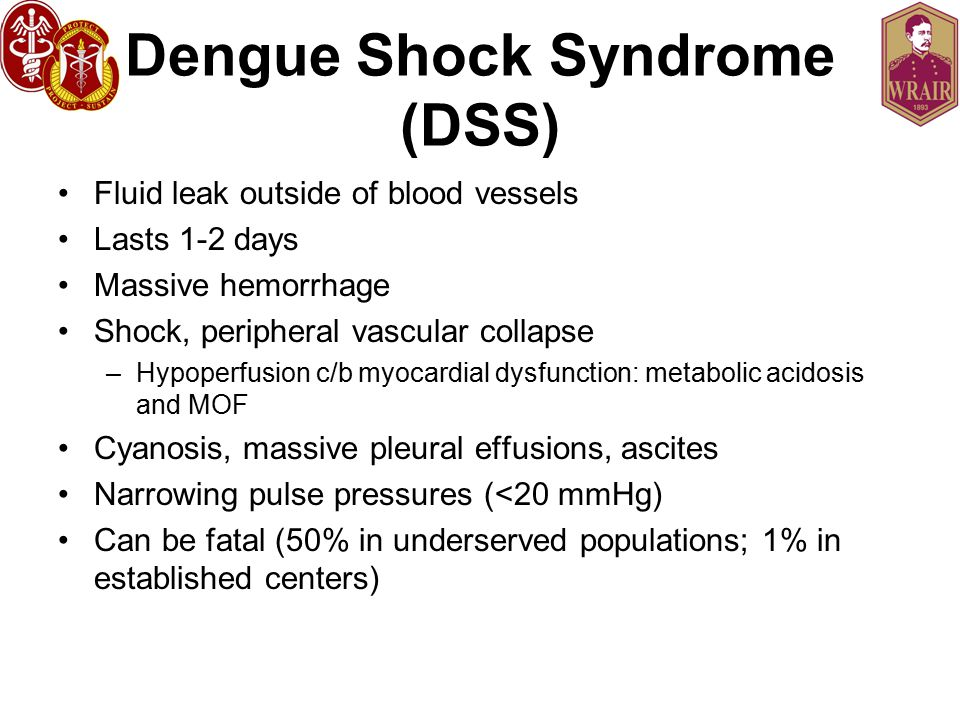 Dengue Shock Syndrome (DSS)