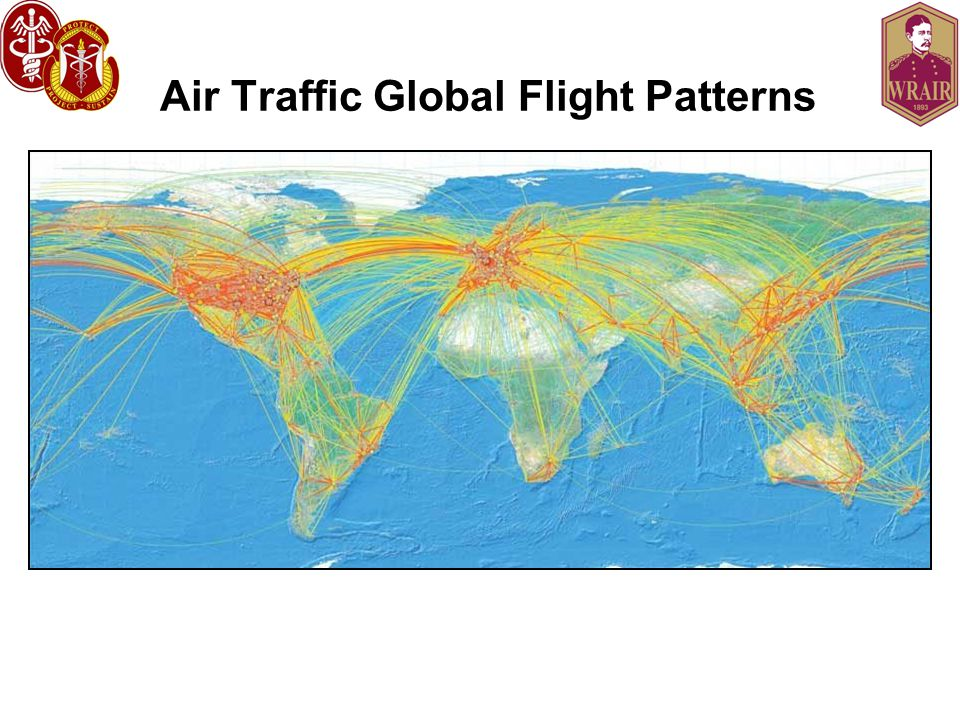 Air Traffic Global Flight Patterns