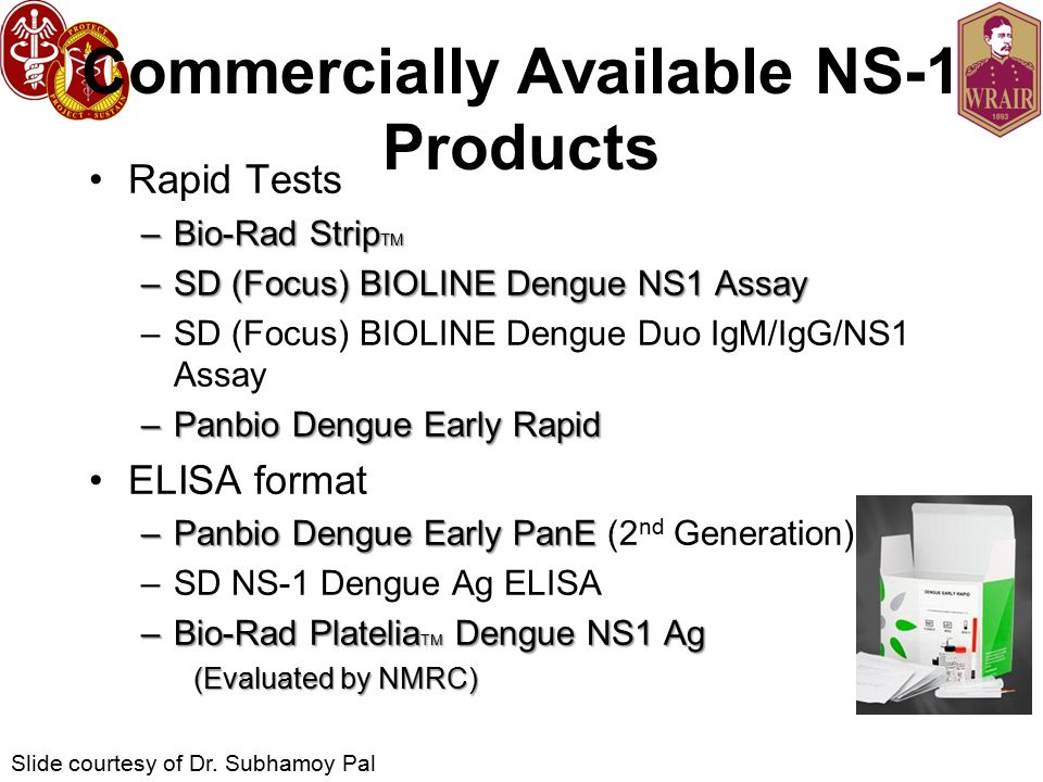 Commercially Available NS-1 Products