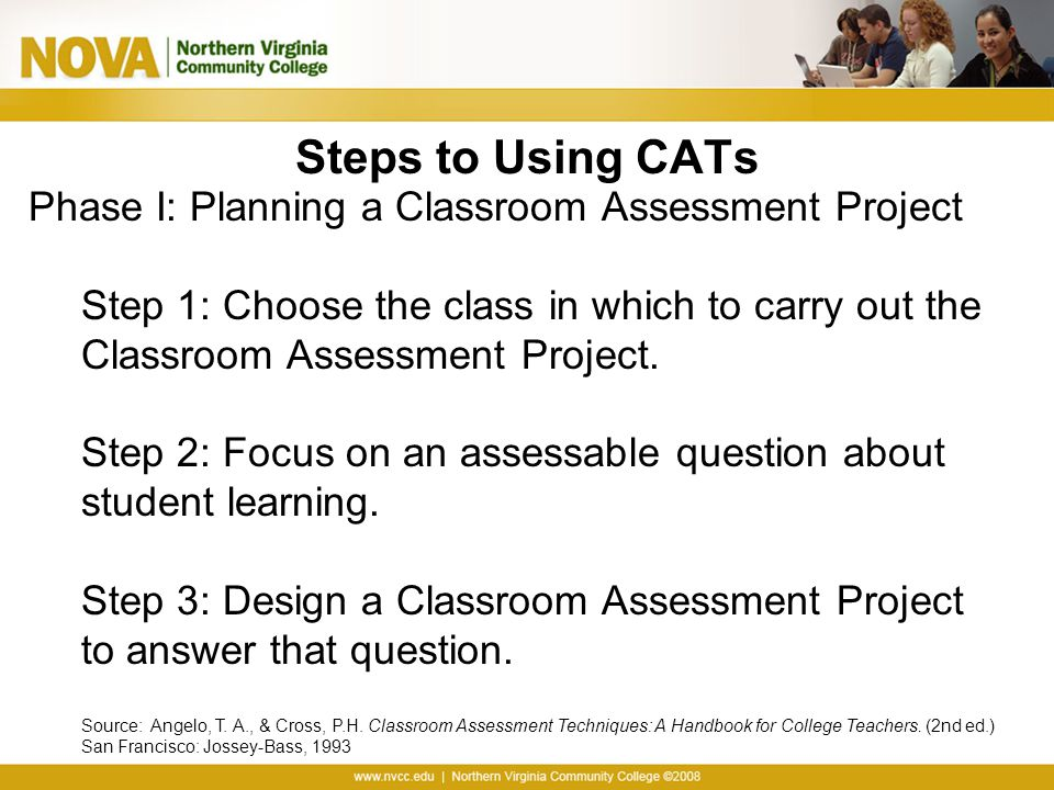 Innovative Classroom Assessment Techniques ~ Coordinator of academic assessment ppt download