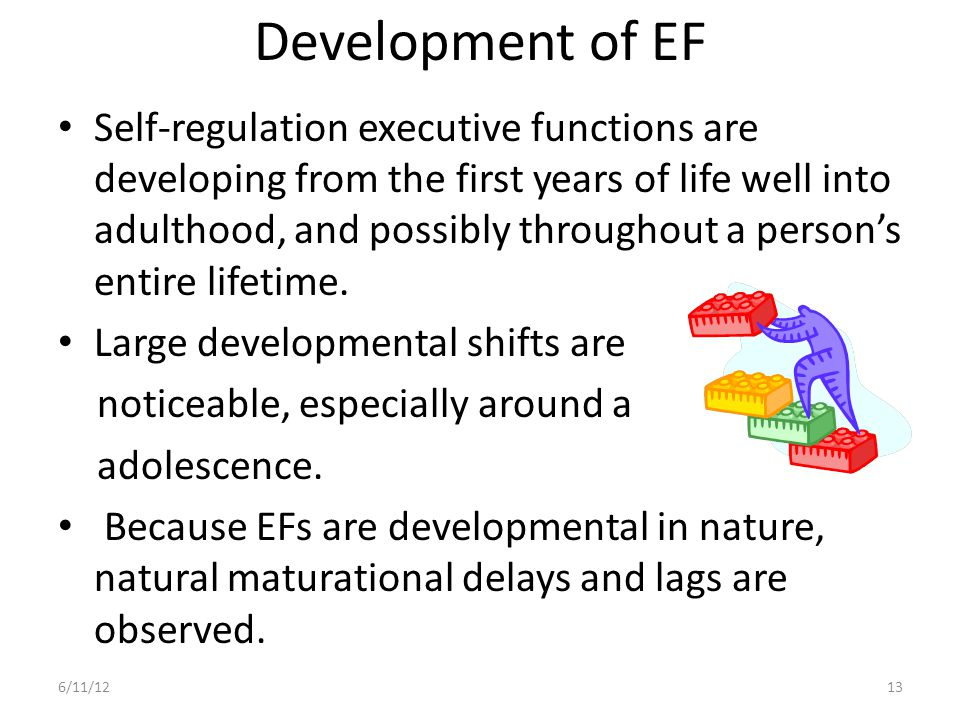 Development of EF