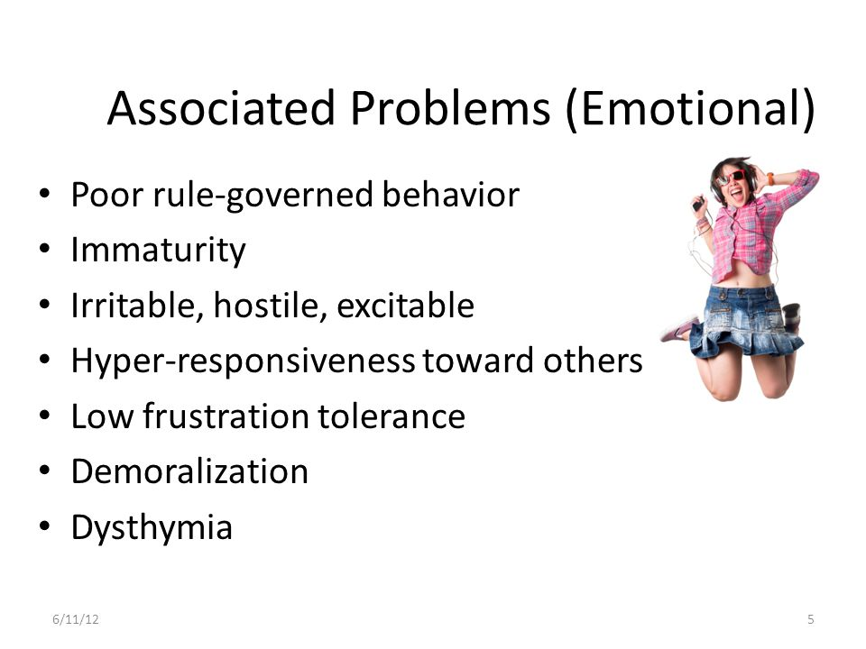 Associated Problems (Emotional)