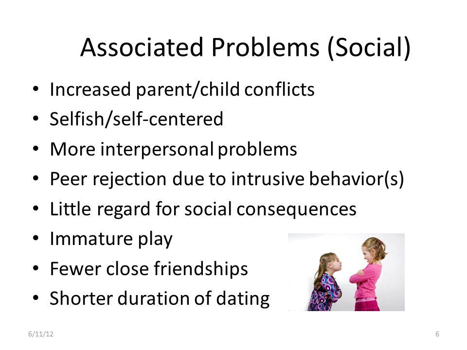 Associated Problems (Social)
