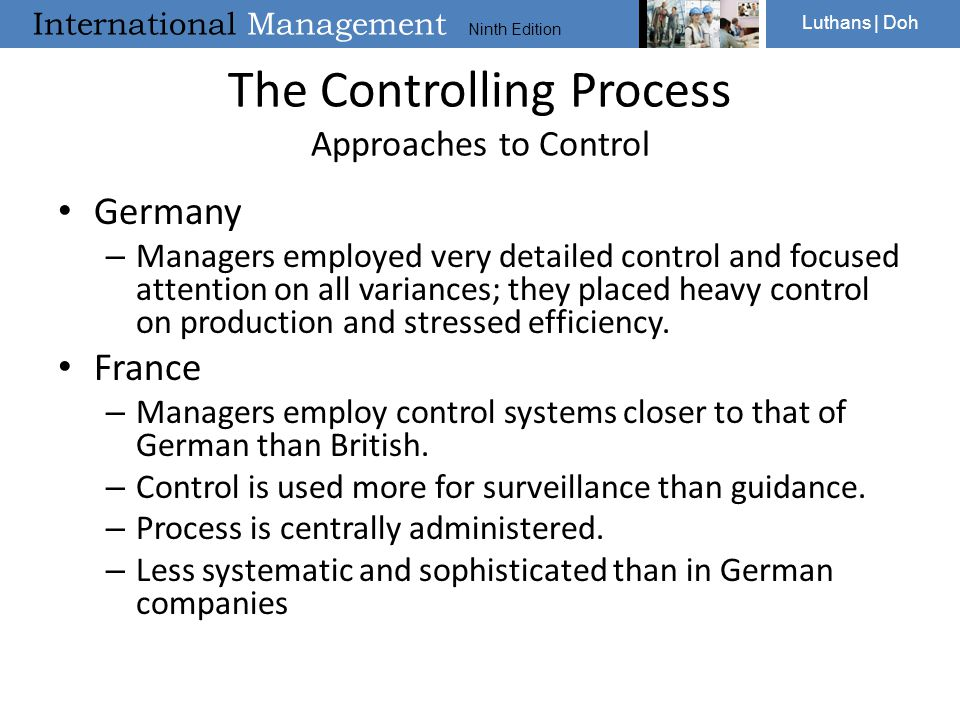The Controlling Process Approaches to Control