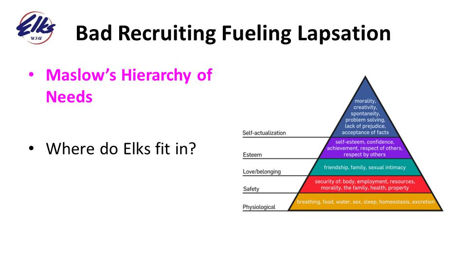 Bad Recruiting Fueling Lapsation