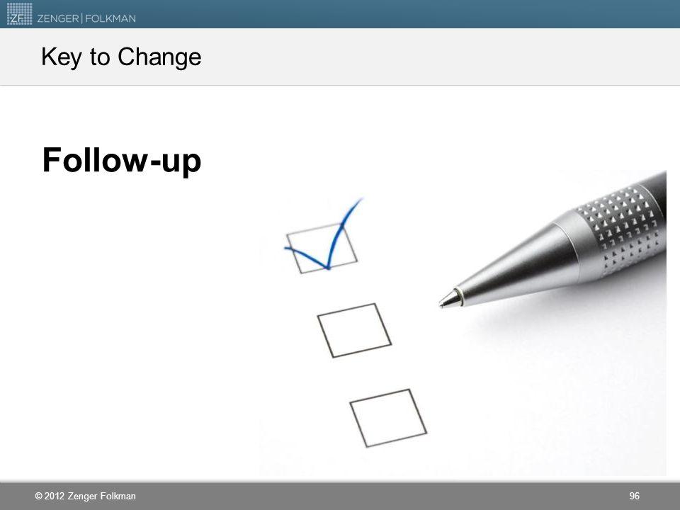 Key to Change Follow-up