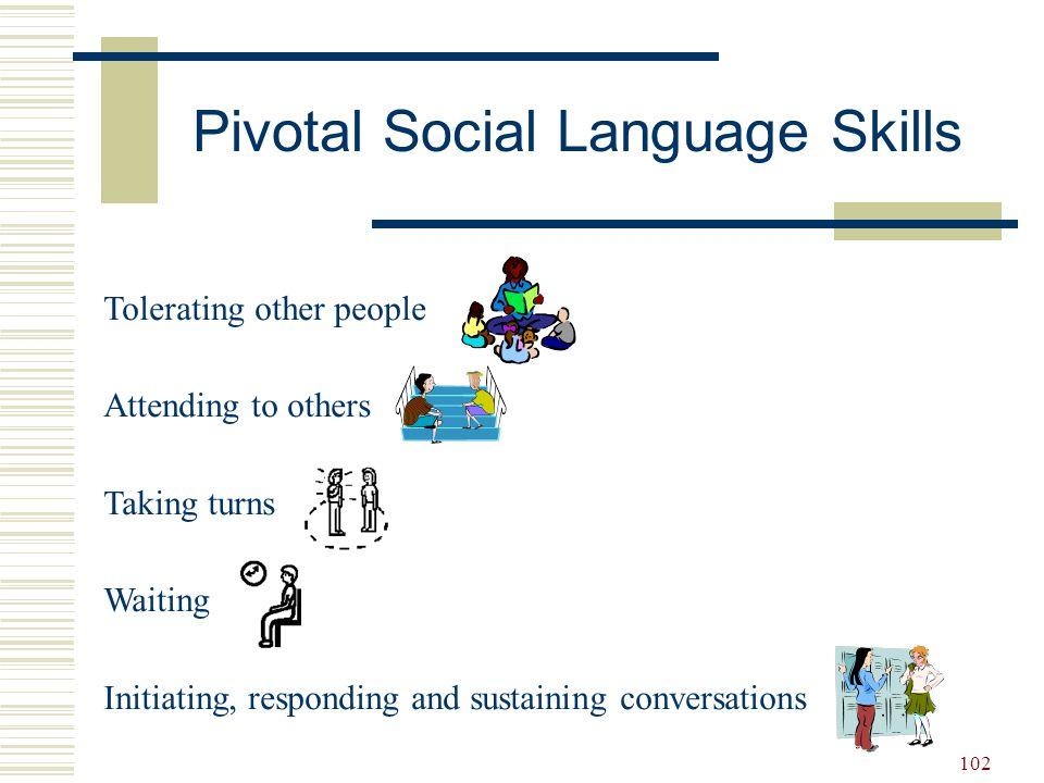 Pivotal Social Language Skills