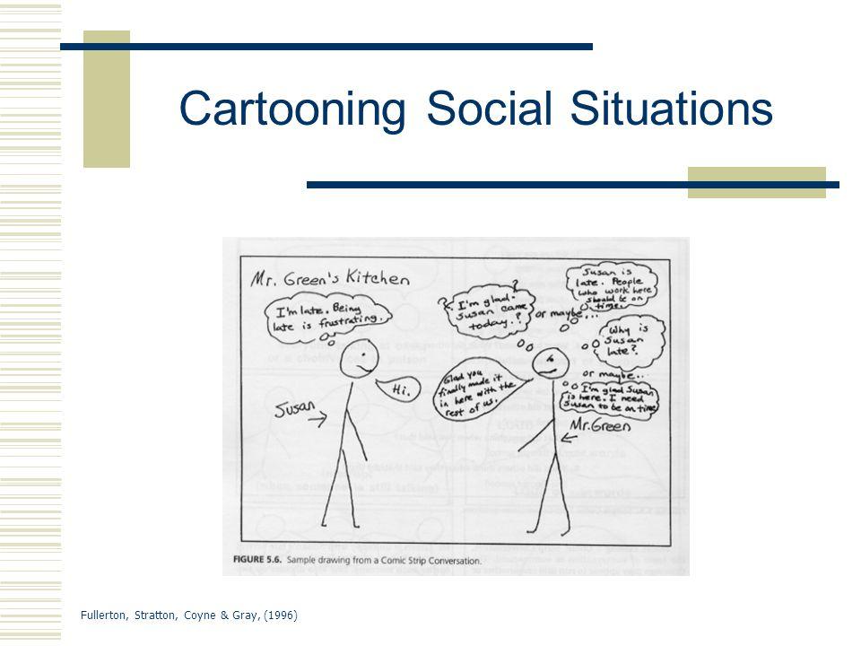 Cartooning Social Situations