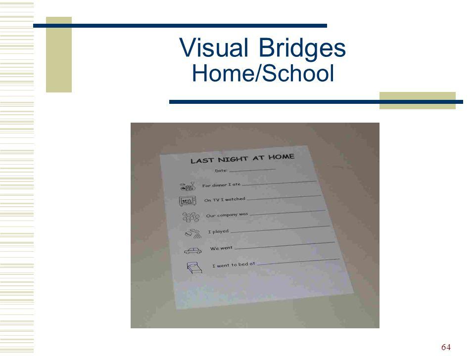 Visual Bridges Home/School