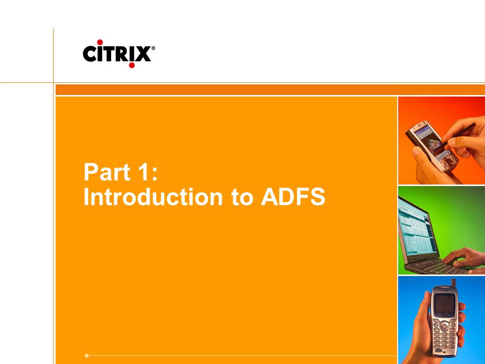 Part 1: Introduction to ADFS