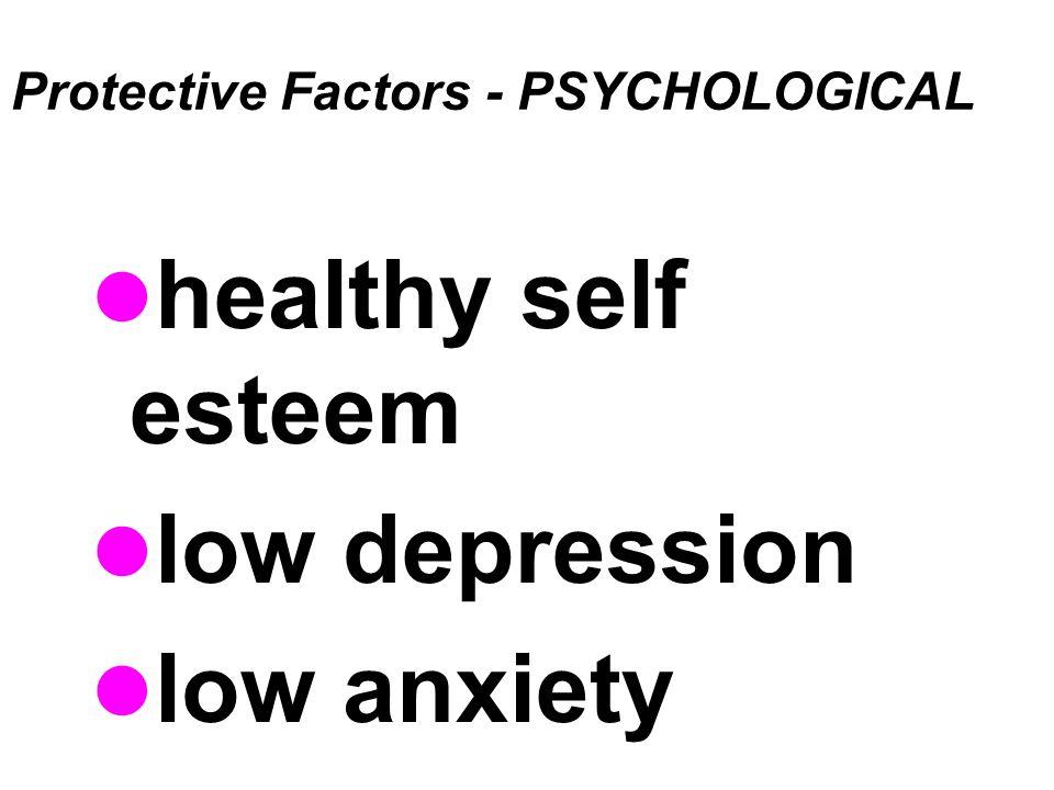Protective Factors - PSYCHOLOGICAL