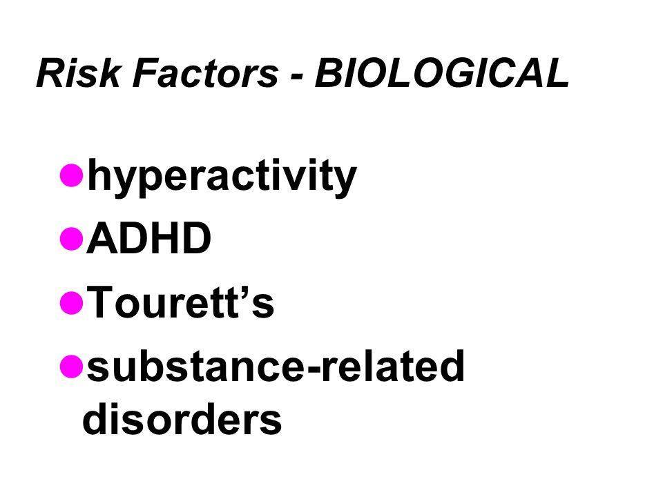 Risk Factors - BIOLOGICAL