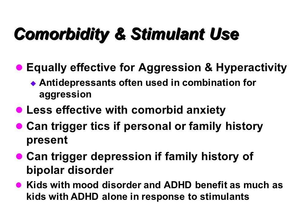 Comorbidity & Stimulant Use