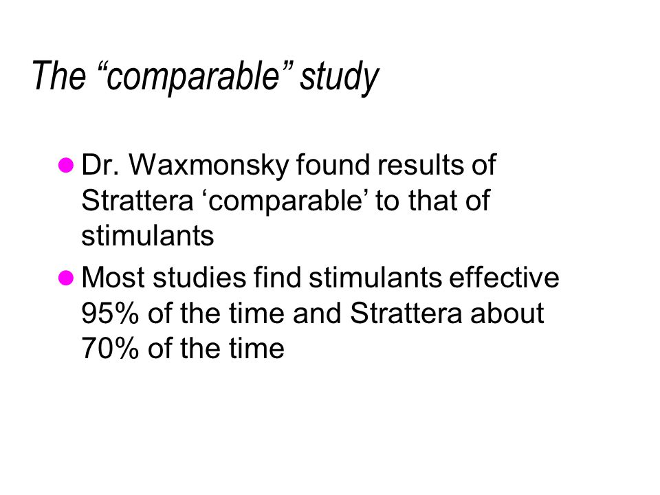 The comparable study