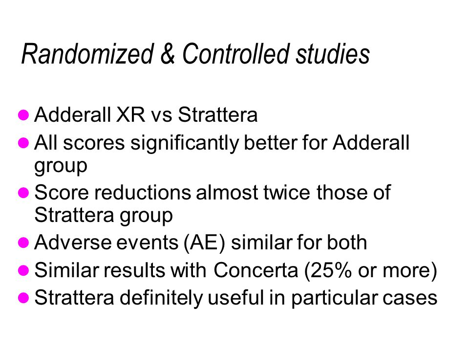 Randomized & Controlled studies
