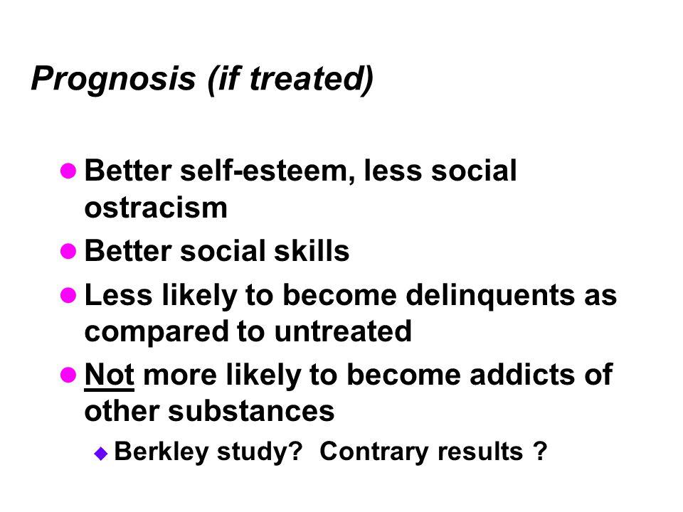 Prognosis (if treated)