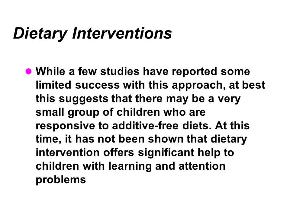 Dietary Interventions