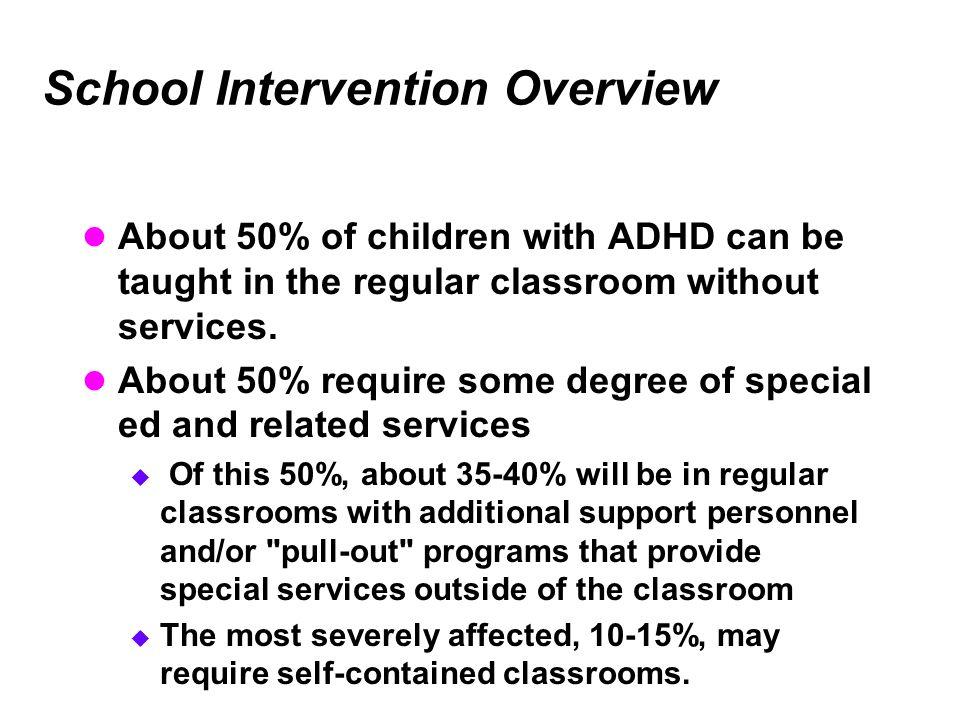 School Intervention Overview