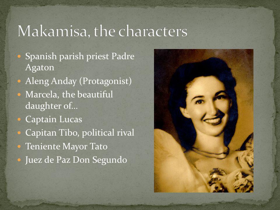 Makamisa, the characters