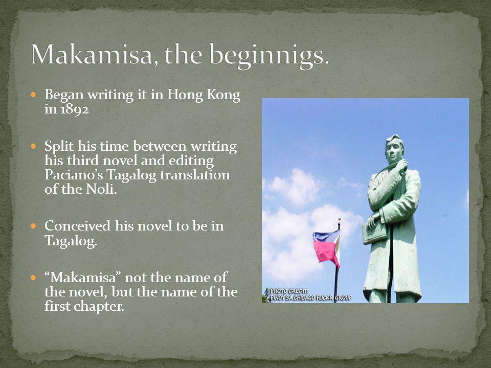 Makamisa, the beginnigs.