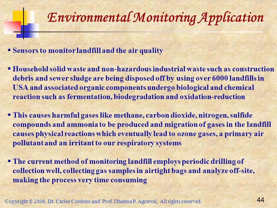 Environmental Monitoring Application