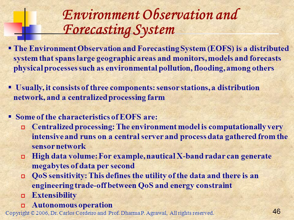Environment Observation and Forecasting System