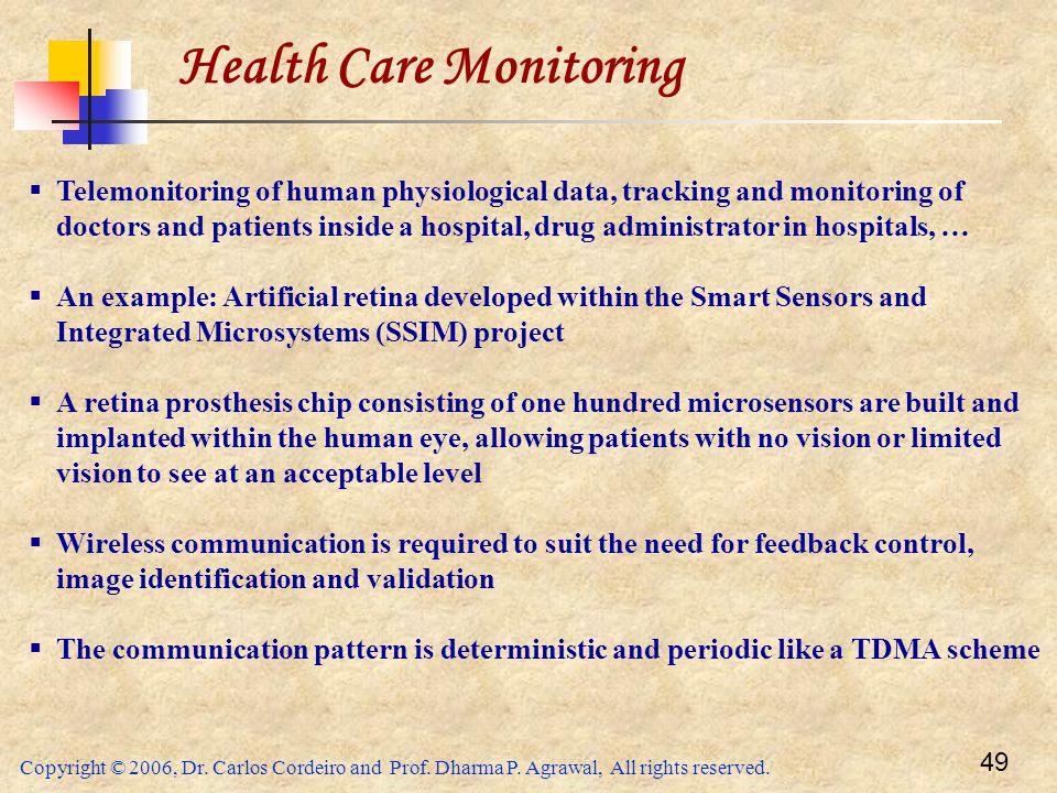 Health Care Monitoring