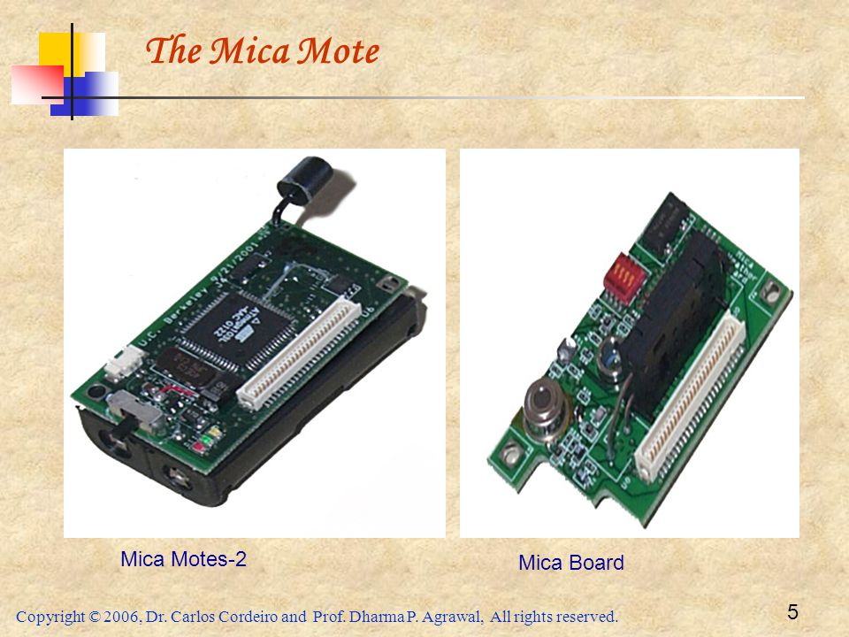 The Mica Mote Mica Motes-2 Mica Board