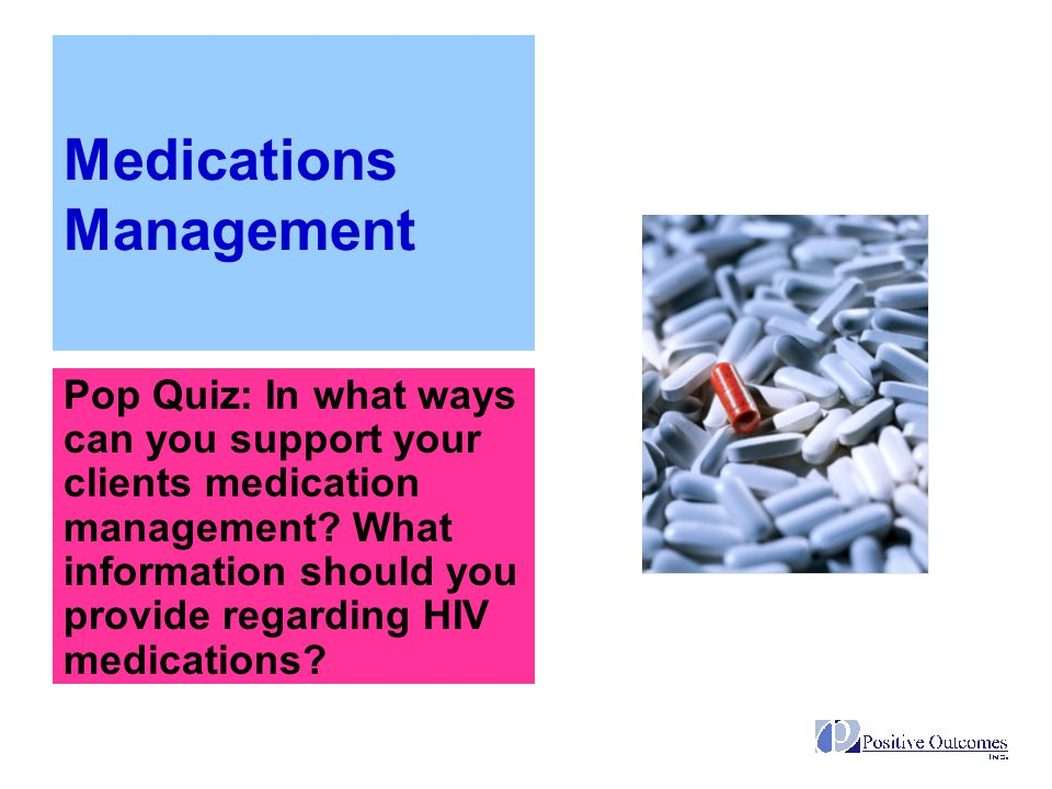 Medications Management