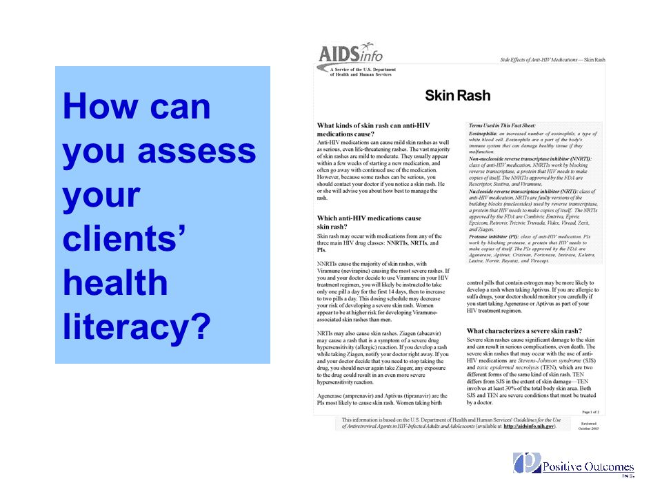 How can you assess your clients' health literacy