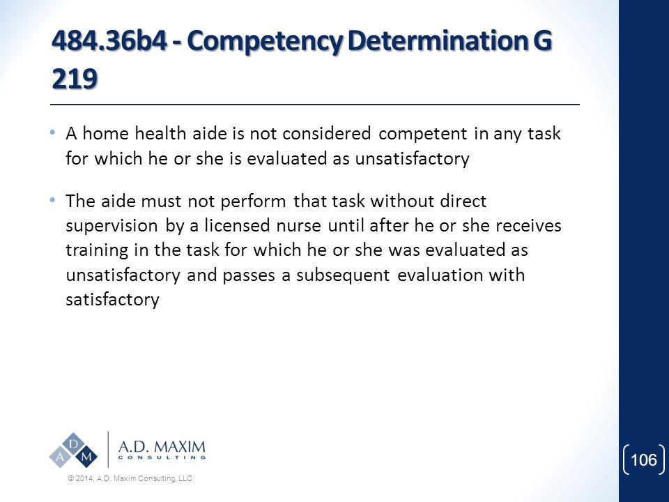 484.36b4 - Competency Determination G 219